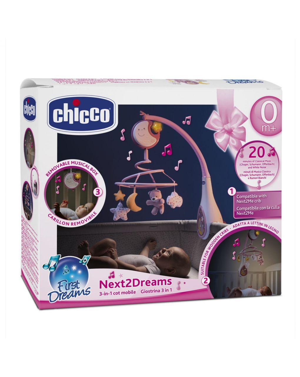 Chicco - giostrina next2dreams rosa - Chicco