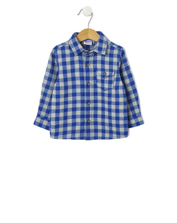 Camicia in flanella a quadri - Prénatal