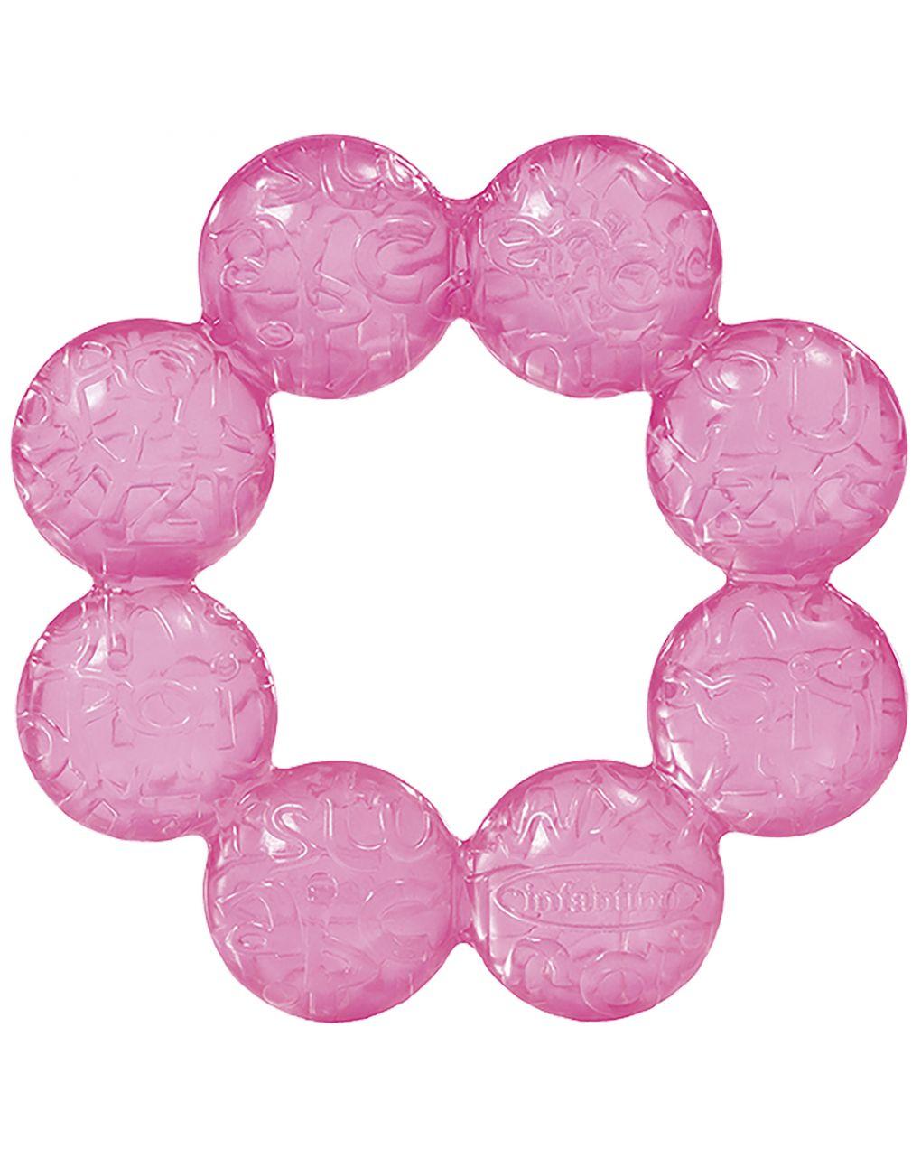 Infantino - anello dentizione rosa - Infantino