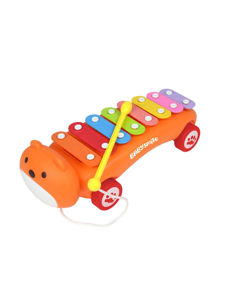 Baby smile - xilofono con ruote - Baby Smile