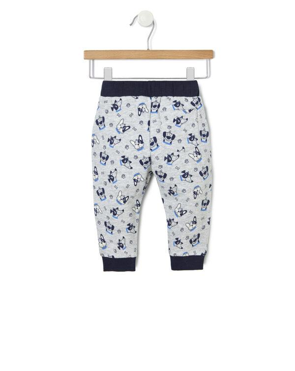 Pantalone in felpa con stampa allover - Prénatal