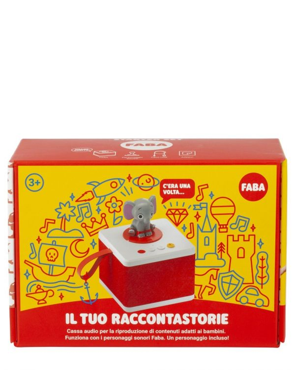 FABA - RACCONTASTORIE - STARTER SET - BIANCO - Faba