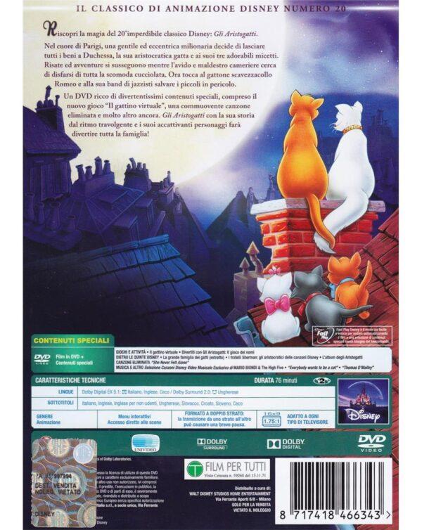 DVD GLI ARISTOGATTI - Video Delta