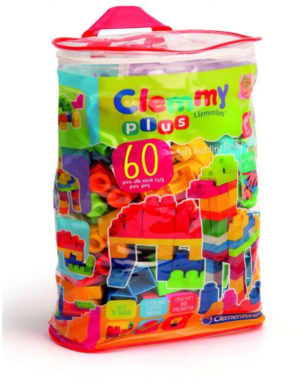 CLEMMY - CLEMMY PLUS SACCA 60 PEZZI - Clementoni