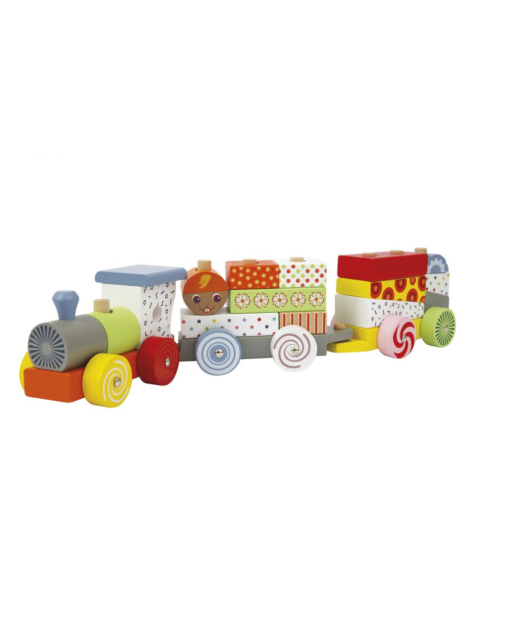 Wood'n play - teddy train - Wood'N'Play