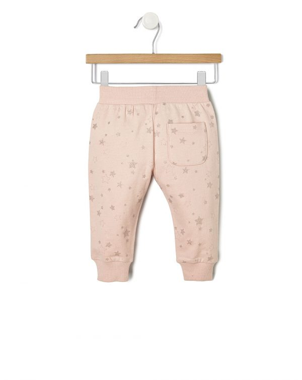 Pantalone in felpa con stampa stelle - Prénatal
