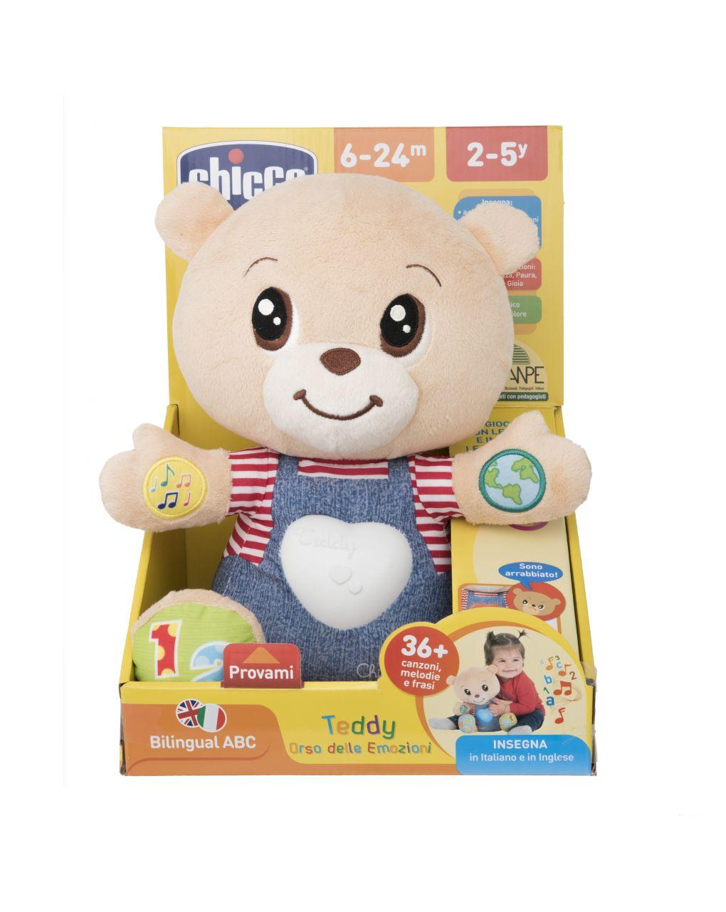 Chicco - pupazzo teddy orso delle emozioni - Chicco