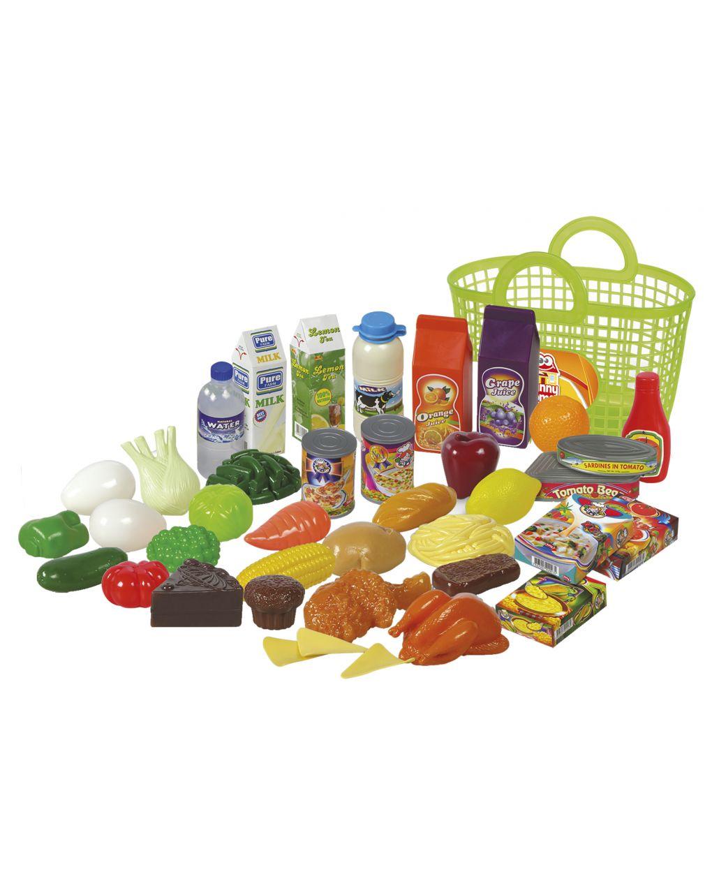 Funny home - borsa della spesa con frutta e verdura - FunnyHome