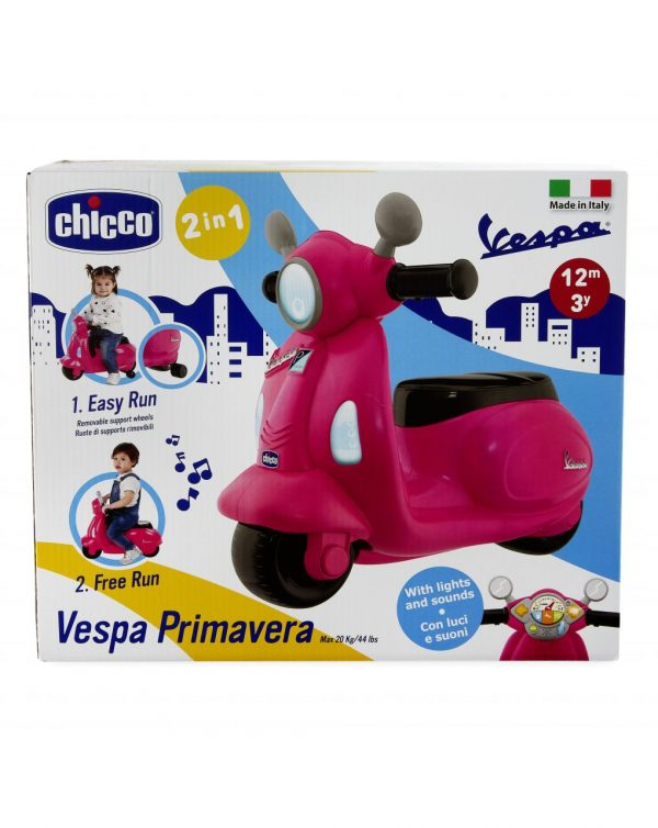 CHICCO - CAVALCABILE VESPA PRIMAVERA ROSA - Chicco