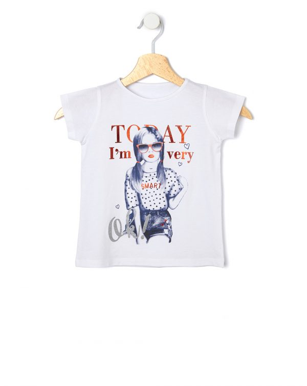 T-shirt con stampa bambina - Prénatal