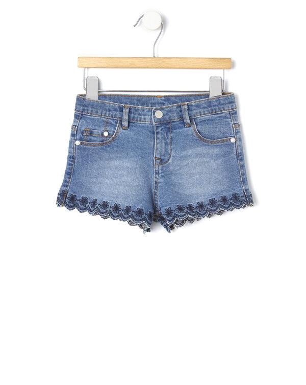 Shorts denim con ricamo - Prénatal
