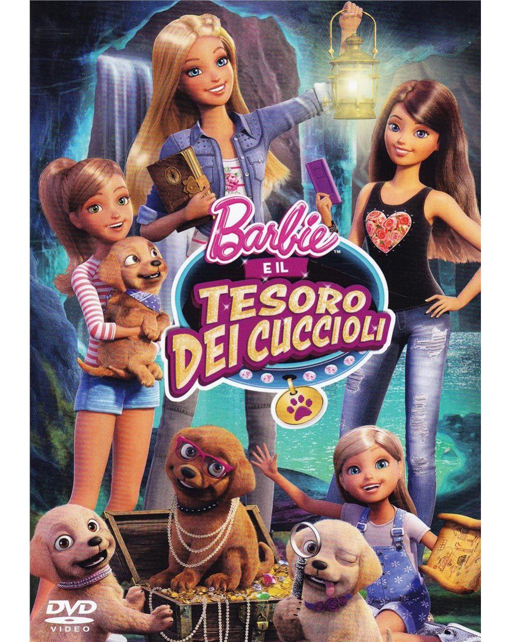 Dvd barbie e il tesoro dei cuccioli - Video Delta