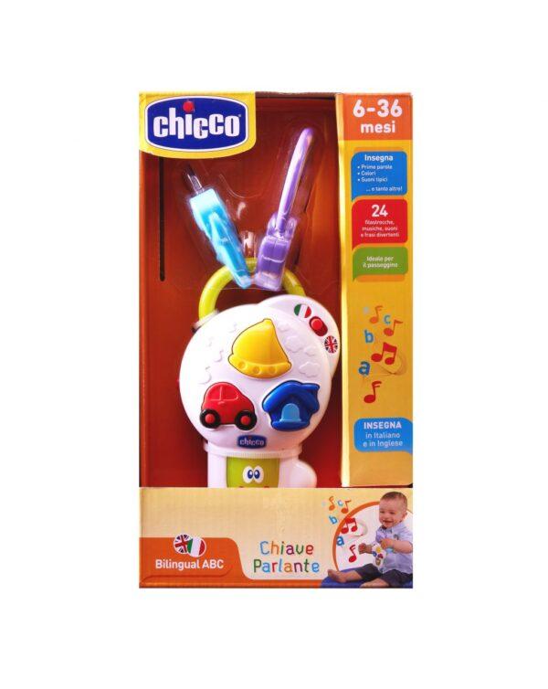 CHICCO - PRIMO GIOCO CHIAVE PARLANTE - Chicco