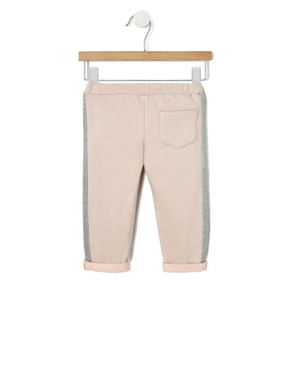 Pantalone in felpa con bande lurex - Prénatal