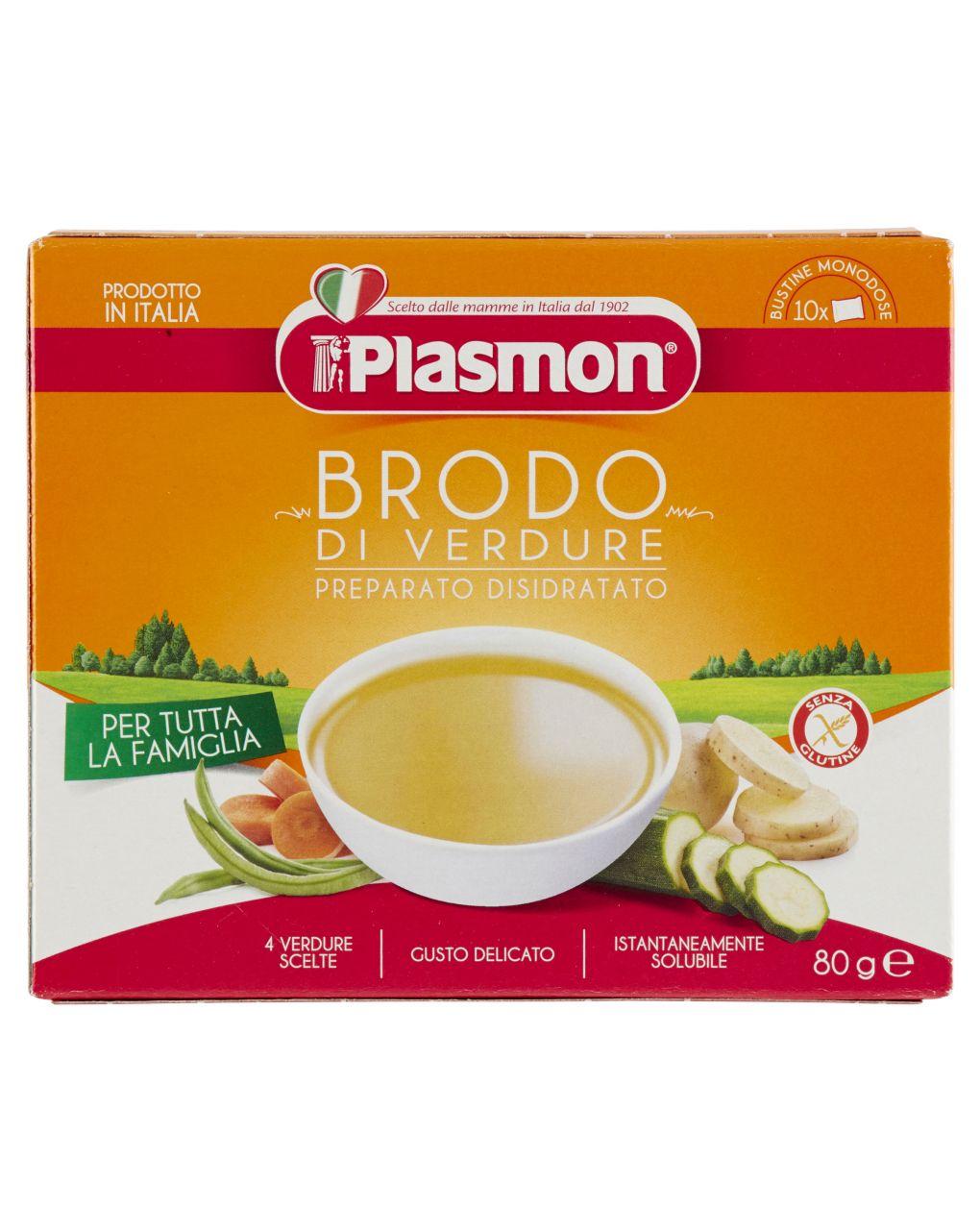 Plasmon - brodo di verdura, preparato disidratato 80g - Plasmon