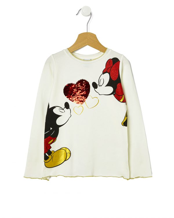 T-shirt Minnie e Mickey - Prénatal