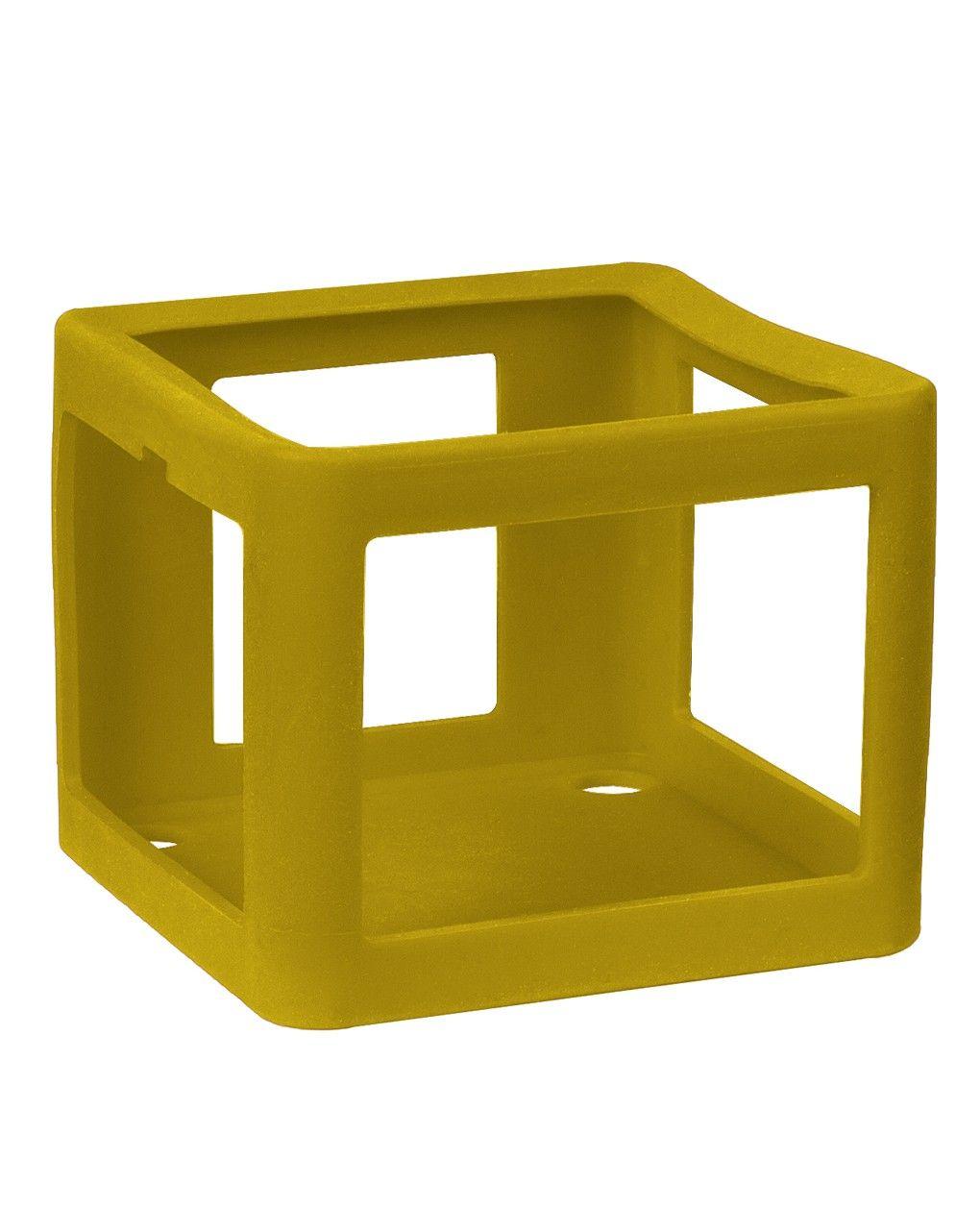 Faba - guscio protettivo in silicone - giallo - Faba