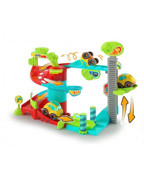 BABY CLEMENTONI - FUN GARAGE - BABY TRACK - Clementoni