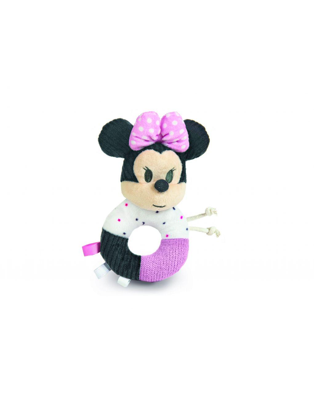 Disney baby - baby minnie morbido anello sonaglino - Clementoni