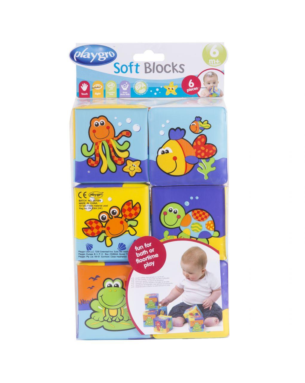 Playgro - soft blocks - Playgro