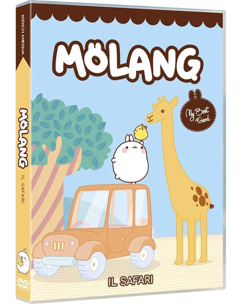 Dvd molang - il safari e altre storie - Video Delta