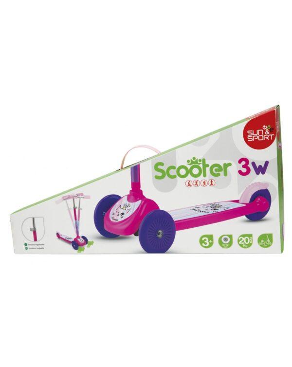 SUN&SPORT - SCOOTER 3W GIRL - Sun&Sport