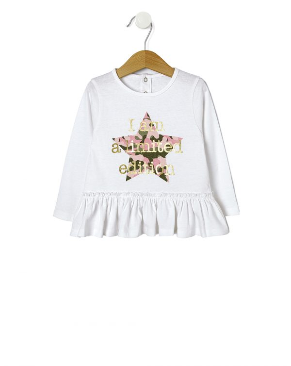 T-shirt con stampa stella - Prénatal