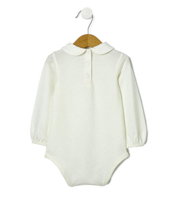 Body in jersey con ricami - Prénatal