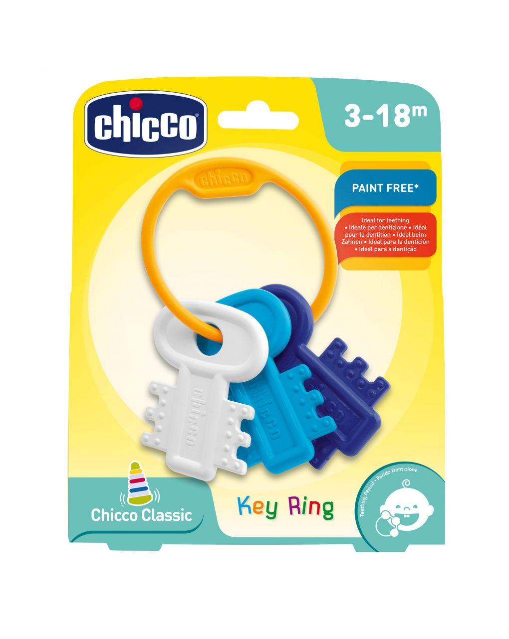 Chicco - trillino chiavi colorate azzurro - Chicco