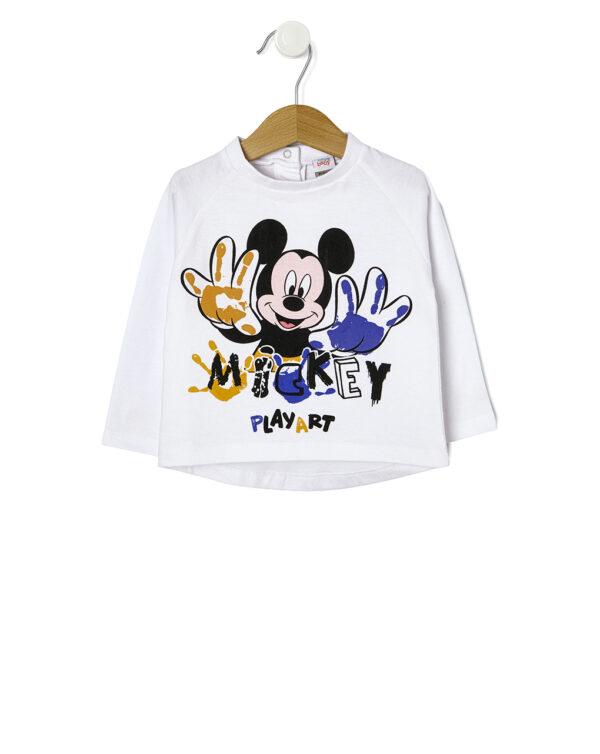T-shirt stampa Mickey Mouse - Prénatal