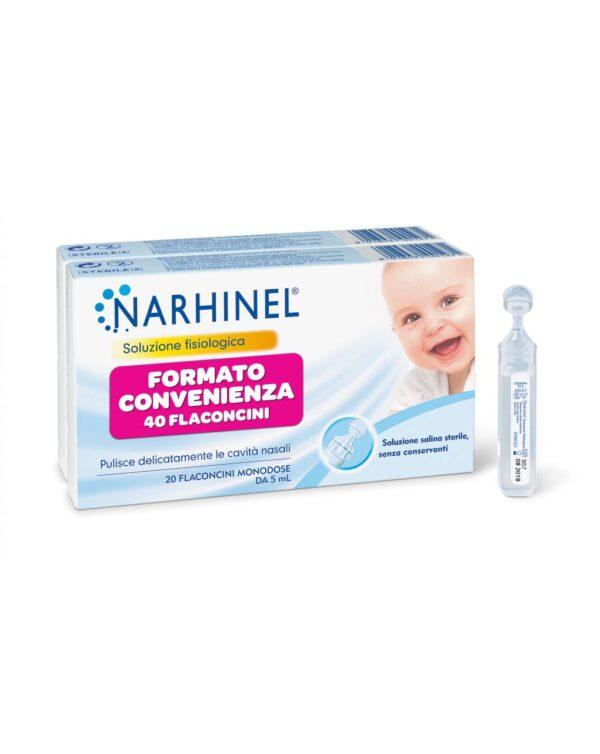 NARHINEL FISIOLOGICA BIPACK 40 FLAC DA 5ML - Narhinel