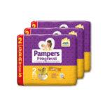 Pampers – Pannolini Progressi tg. 2 (3 pacchi, totale 90 pz)