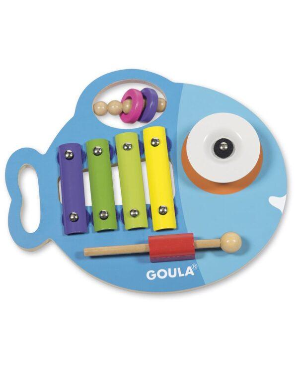 GOULA - GLUPI MUSICALE 3 IN 1 - Goula