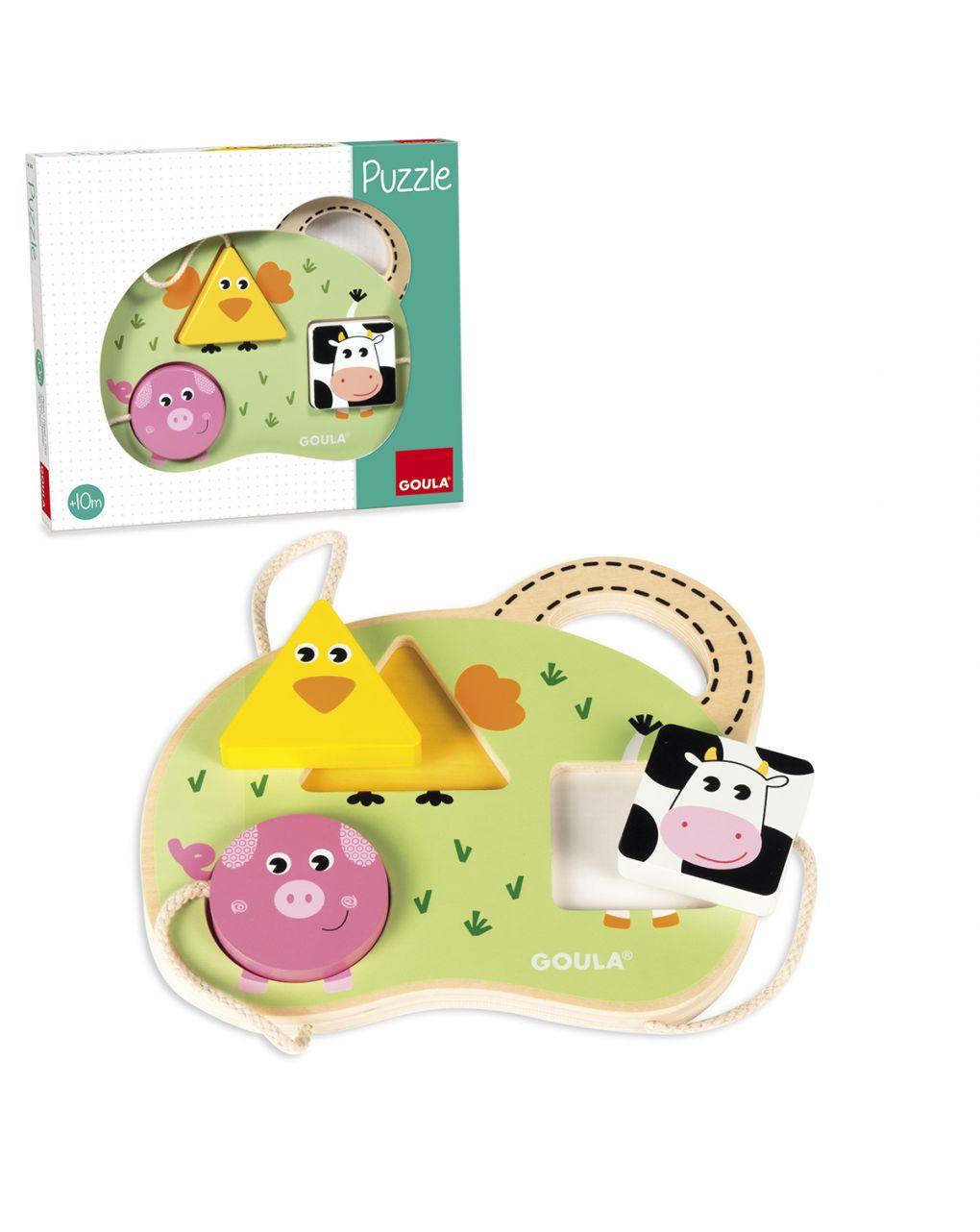 Goula - puzzle 3 animali fattoria - Goula