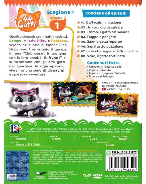 DVD 44 GATTI - STAG.01 #01 - Video Delta
