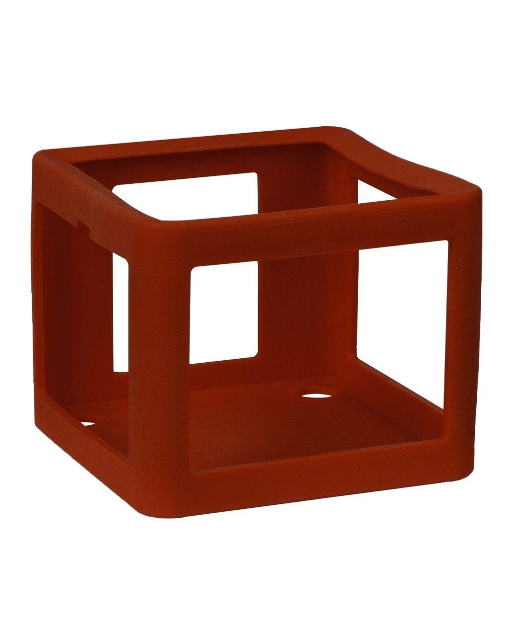 Faba - guscio protettivo in silicone - rosso - Faba