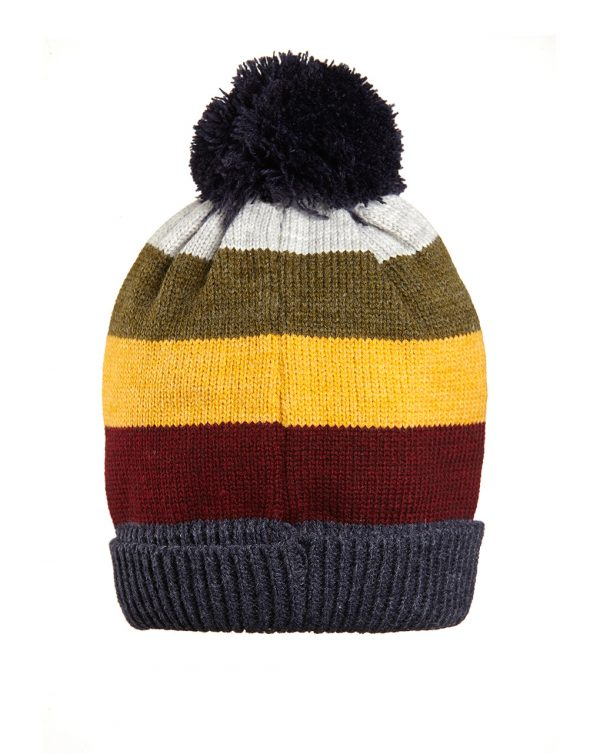 Cappellino fantasia a righe colorate - Prénatal