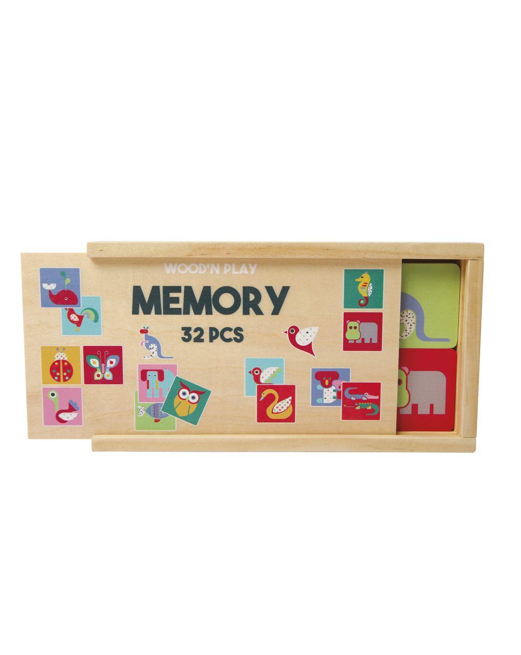 Wood'n play - gioco memory - Wood'N'Play