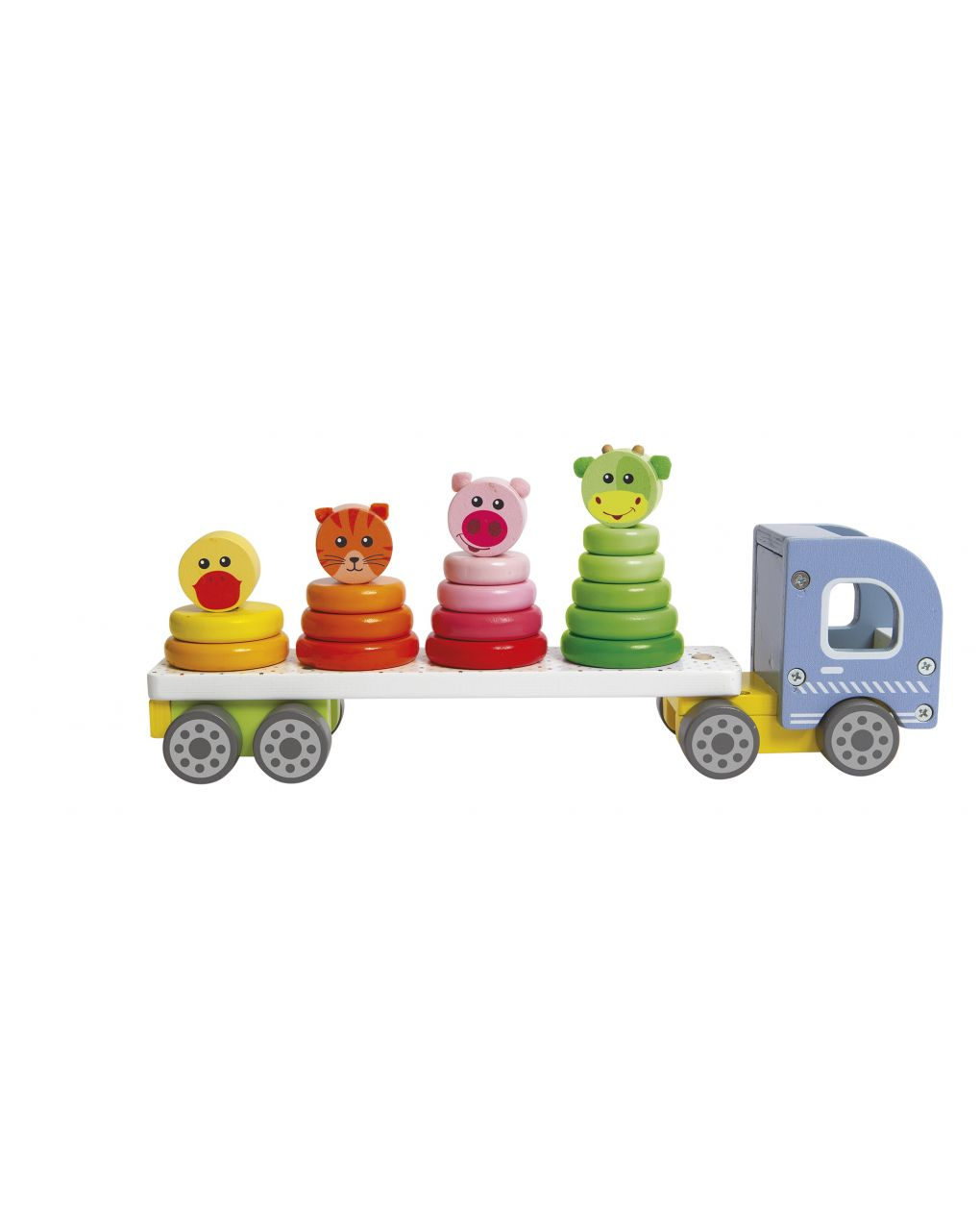 Wood'n play - camion fire truck - Wood'N'Play