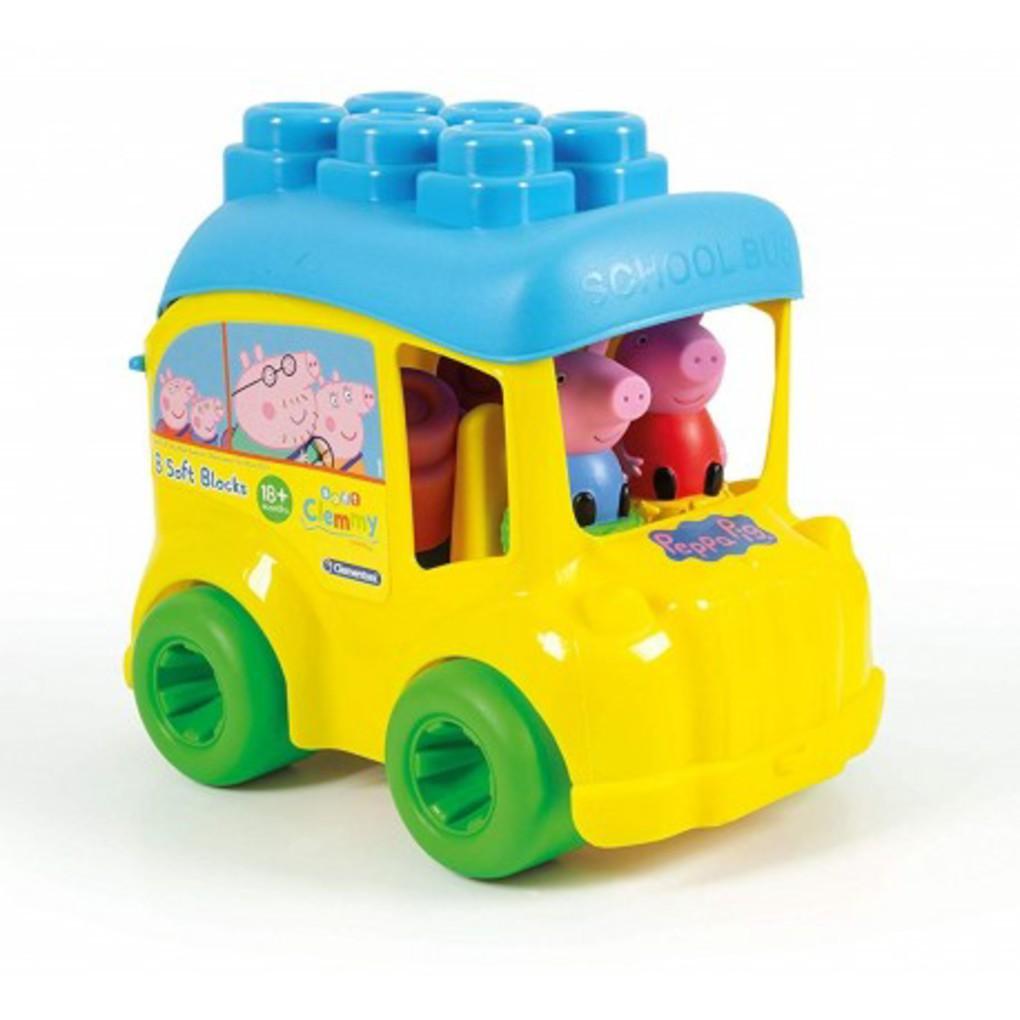 Peppa pig - secchiello scuolabus peppa pig - Clementoni