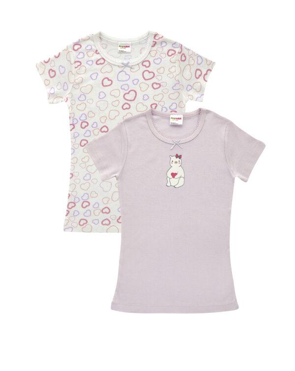 Pack 2 T-shirt con stampa orso - Prénatal
