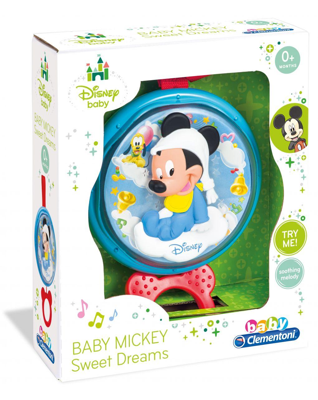 Disney baby - topolino carillon dolce notte - Clementoni