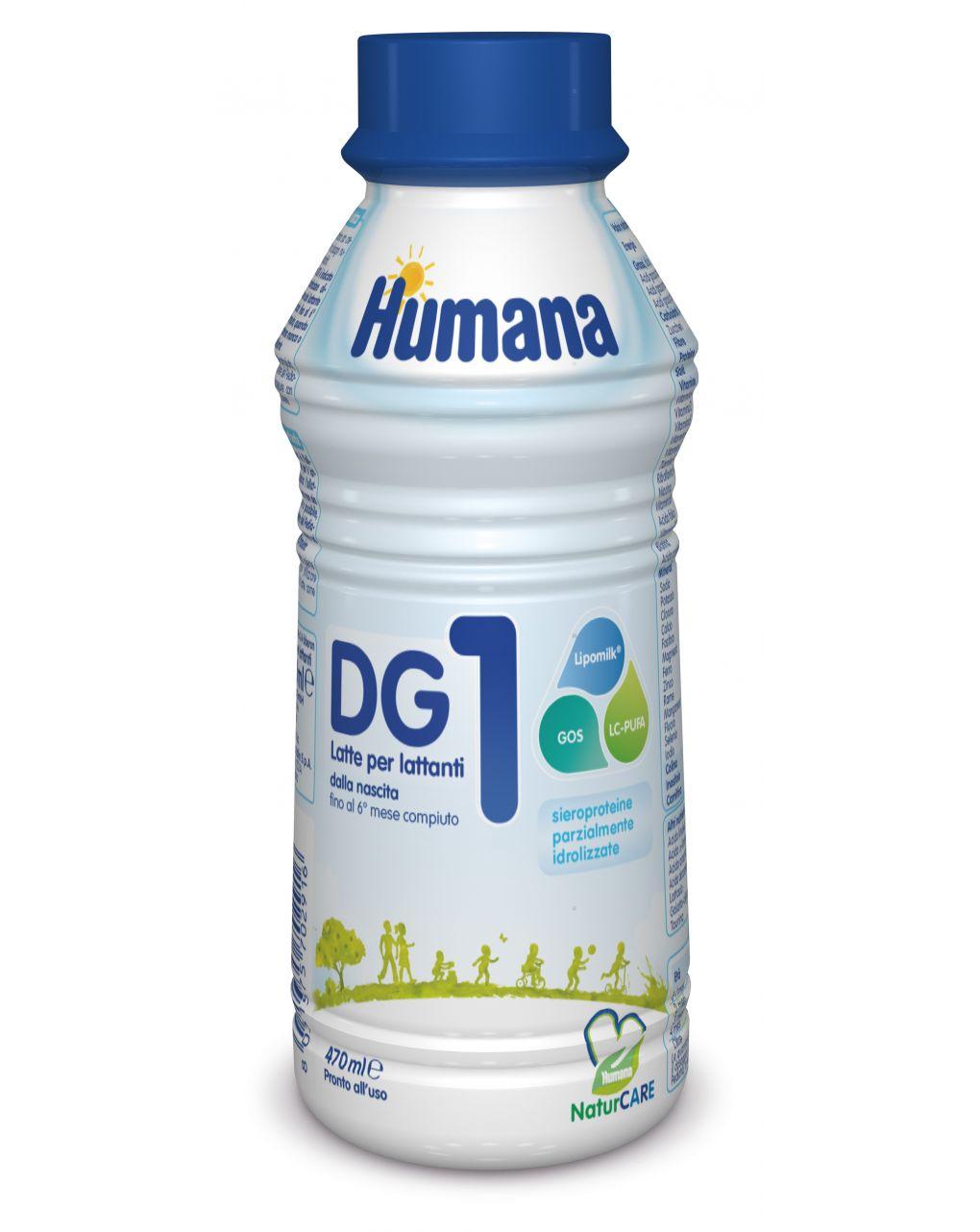 Humana - latte humana dg 1 liquido 470ml - Humana