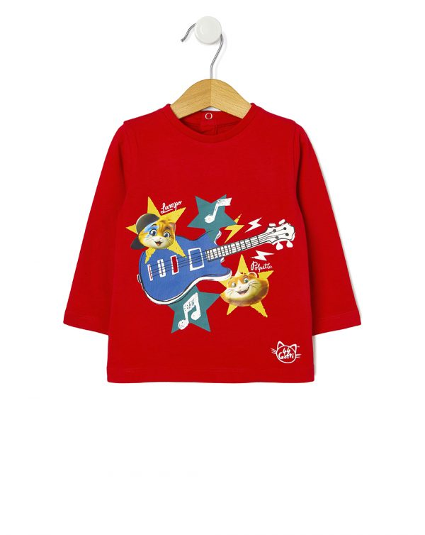 "T-shirt ""44 gatti"" - Prénatal"