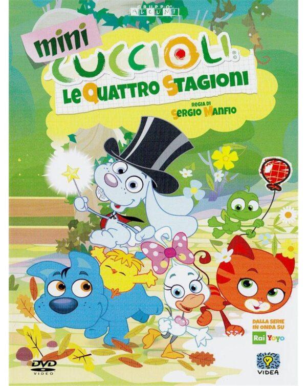 DVD MINICUCCIOLI - LE QUATTRO STAGIONI - Video Delta