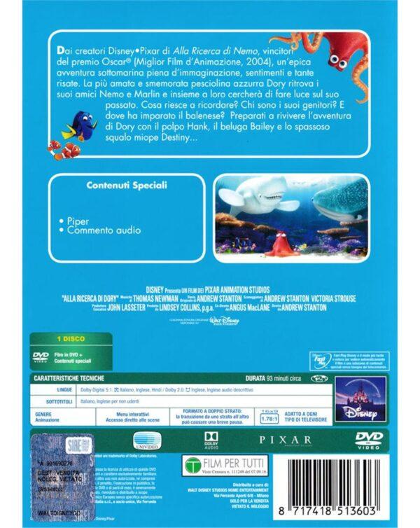 DVD ALLA RICERCA DI DORY - Video Delta