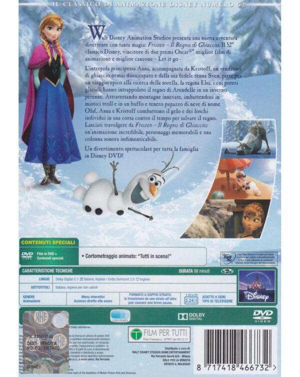 DVD FROZEN - IL REGNO DI GHIACCIO - Disney