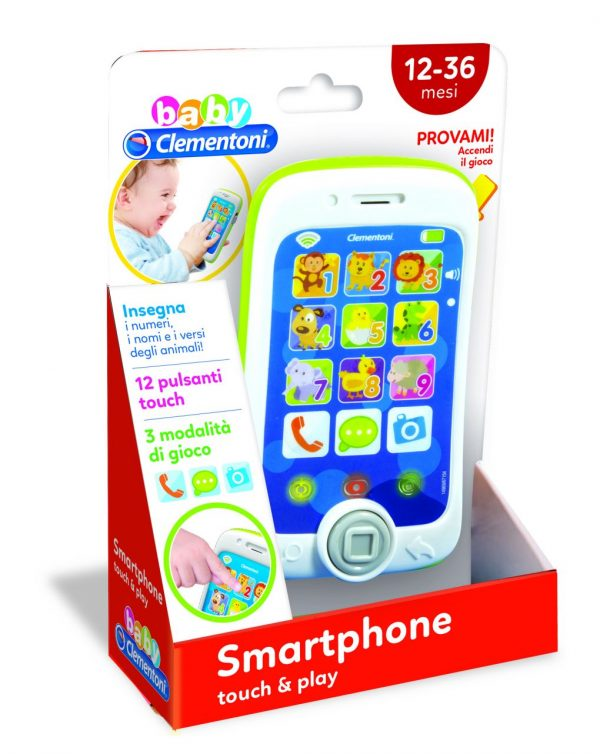BABY CLEMENTONI - SMARTPHONE TOUCH & PLAY - Clementoni