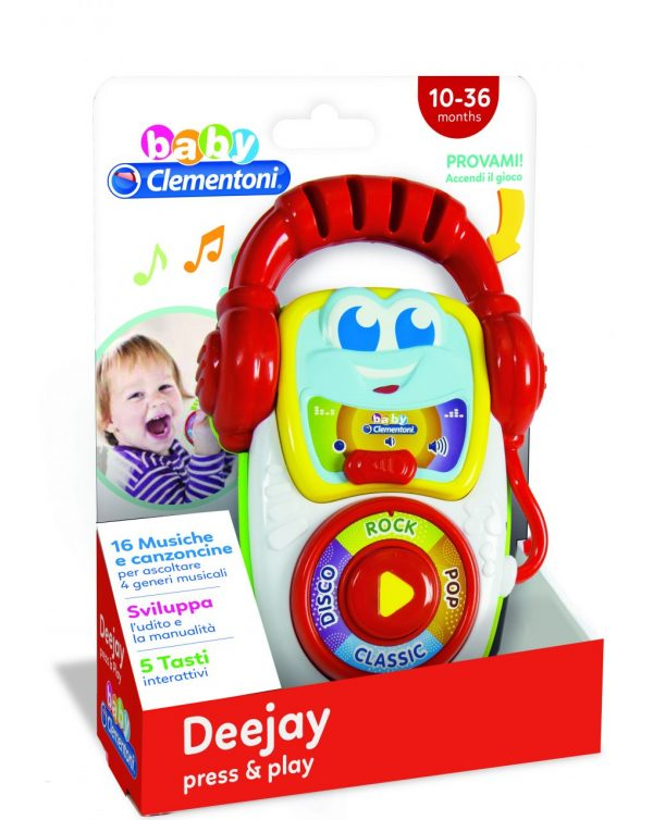 BABY CLEMENTONI - DEEJAY PRESS & PLAY - Clementoni