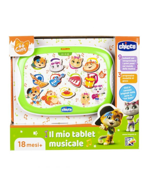CHICCO - TABLET MUSICALE 44 GATTI - Chicco